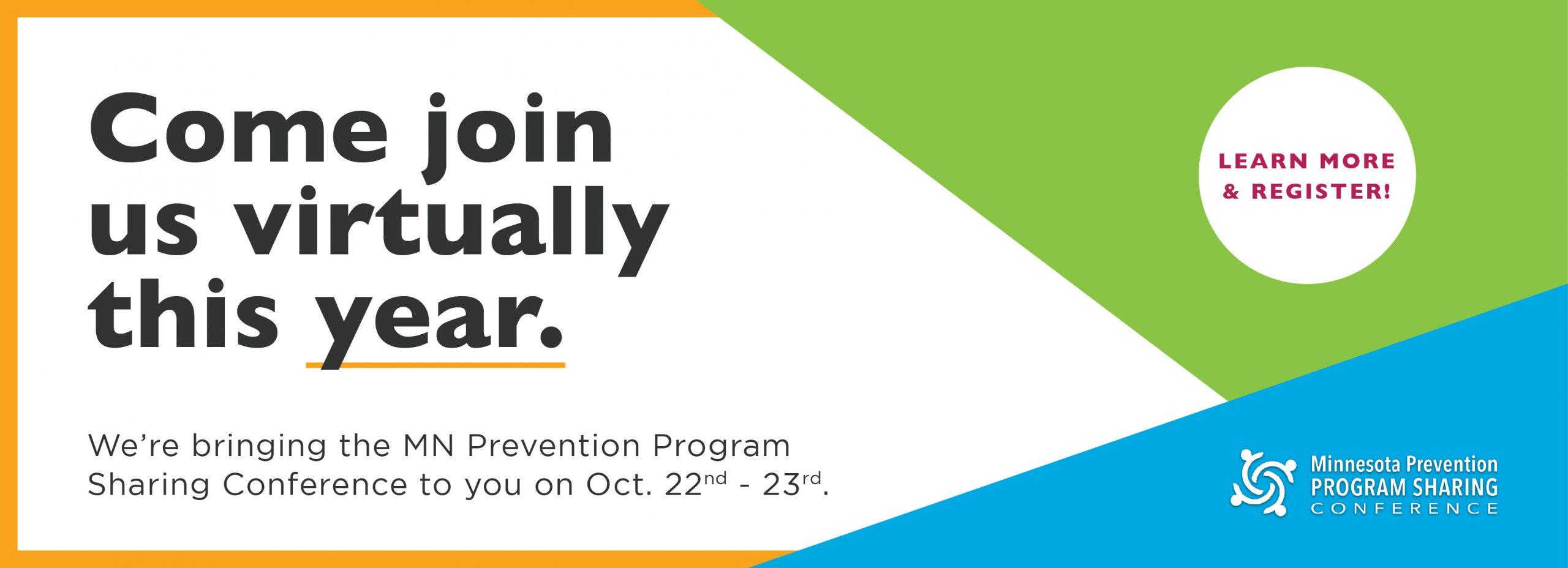 2020 Minnesota Prevention Program Sharing Conference